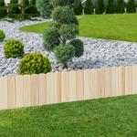 IDMarket  Lot de 10 bordurettes de jardin en bois L. 5 M x H. 0.35 M... par LeGuide.com Publicité