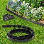 IDMarket  Bordurette de jardin flexible noire 10 M avec 30 piquets d'ancrage... par LeGuide.com Publicité