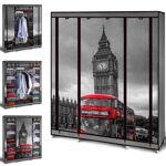 IDMarket  Armoire de rangement Londres dressing penderie XXL tissu... par LeGuide.com Publicité