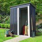 IDMarket  Abri de jardin 1.3 m² gris en acier galvanisé   Vous manquez... par LeGuide.com Publicité