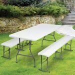 probache  ProBache  Table pliante portable 180 cm et 2 bancs pliables pour... par LeGuide.com Publicité