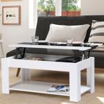 IDMarket  Table basse contemporaine TAO plateau relevable bois blanc... par LeGuide.com Publicité