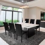 IDMarket  Lot de 6 chaises HANNAH noires pour salle à manger   Aménagez... par LeGuide.com Publicité