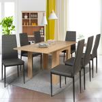 IDMarket  Table à manger extensible DONA 6-8 personnes hêtre 80-160cm... par LeGuide.com Publicité