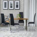 IDMarket  Lot de 4 chaises Mia noires pour salle à manger   Invitez le... par LeGuide.com Publicité