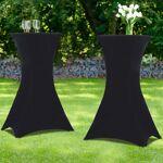 IDMarket  Housse noire x2 pour table haute pliante 105 cm   Recevez vos... par LeGuide.com Publicité