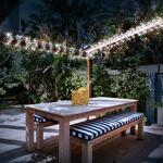 probache  ProBache  Guirlande solaire 100 led blanches décorative   Illuminez... par LeGuide.com Publicité