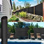IDMarket  Brise vue renforcé 1,8 x 10 m noir 220 gr/m² luxe pro   IDMarket... par LeGuide.com Publicité