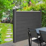 IDMarket  Kit de départ panneau occultant RIO en bois composite gris... par LeGuide.com Publicité
