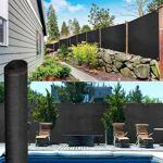 IDMarket  Brise vue renforcé 1,5 x 10 m noir 220 gr/m² luxe pro   Vous... par LeGuide.com Publicité