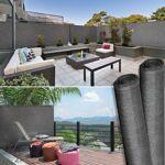 IDMarket  Brise vue haute densité 1,2 x 10 m gris 300 gr/m² qualité pro... par LeGuide.com Publicité
