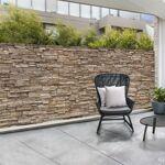 IDMarket  Brise vue occultant 1,8 x 10m motif pierre 160 GR/M²   Habillez... par LeGuide.com Publicité
