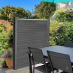 IDMarket  Kit de départ panneau occultant NOA en bois composite gris... par LeGuide.com Publicité