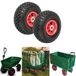 IDMarket  Lot de 2 roues gonflables 260mm pour diable chariot alésage... par LeGuide.com Publicité