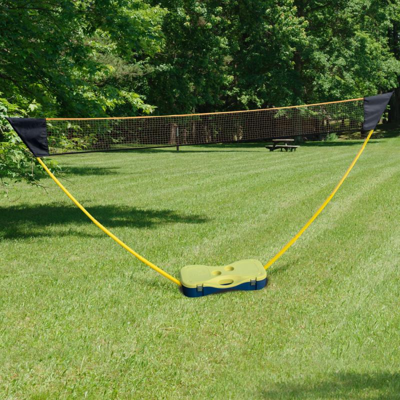 IDMarket Filet de badminton avec raquettes et volants 300 cm