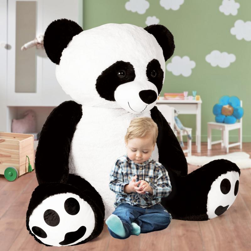 IDMarket Panda en peluche géant 150 cm