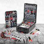 IDMarket  Mallette valise outils avec roulettes 308 pièces aluminium... par LeGuide.com Publicité