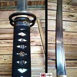 Katana Miyamoto Musashi Damas Katana de coupe avec lame en acier forgé... par LeGuide.com Publicité