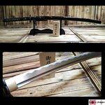 Katana Dernier Samurai Katana de coupe avec lame en acier forgé main... par LeGuide.com Publicité