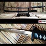 Katana Miyamoto Musashi Katana de coupe avec lame en acier forgé main... par LeGuide.com Publicité