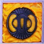 CHIBURI Tsuba Fleur Tsuba en métal motif fleur par LeGuide.com Publicité