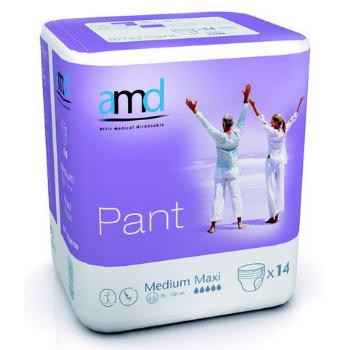 AMD Pant Maxi - 6 paquets de 14 protections Medium