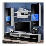so inside  SO INSIDE Ensemble TV blanc et noir brillant avec led Watch... par LeGuide.com Publicité