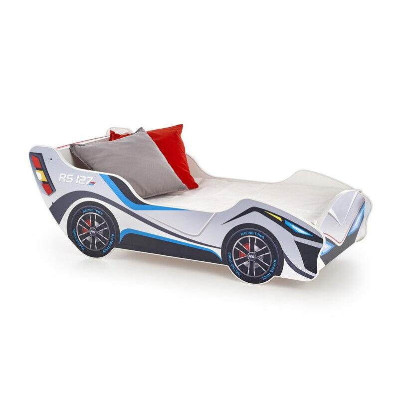 SO INSIDE Lit enfant voiture 151x55cm bois avec matelas Banbino