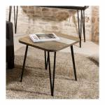so inside  SO INSIDE Table d'appoint industrielle acacia 50x50cm Alice... par LeGuide.com Publicité
