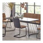 so inside  SO INSIDE Table industrielle verre et métal 180x90cm Winter... par LeGuide.com Publicité