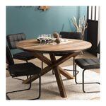so inside  SO INSIDE Table à manger ronde industrielle 130cm Tinesixe Conviviale... par LeGuide.com Publicité