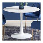 so inside  SO INSIDE Table ronde diamètre 100 cm blanc laqué Cotoon Cette... par LeGuide.com Publicité
