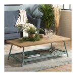 so inside  SO INSIDE Table basse avec plateau en sapin et pieds en métal... par LeGuide.com Publicité
