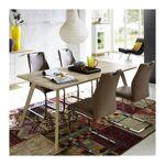 so inside  SO INSIDE Table salle a manger scandinave 160x80cm Malmo Cette... par LeGuide.com Publicité