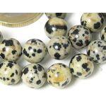 superbijoux  Superbijoux Fil de 24 perles rondes 8mm 8 mm en Jaspe dalmatien... par LeGuide.com Publicité