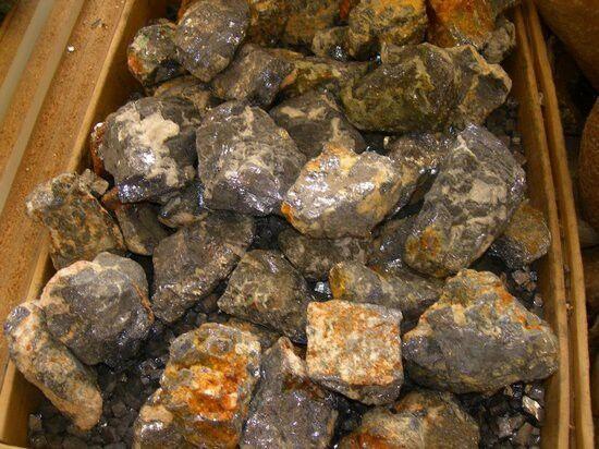 superbijoux Lot de 400 grammes de Galène du Maroc pierres brutes