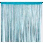 TheDecoFactory FILOU Un rideau à fils de couleur bleu, lumineux, fluide,... par LeGuide.com Publicité