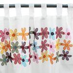 TheDecoFactory UNITED FLOWERS Un très joli Voilage à pattes en organdi... par LeGuide.com Publicité