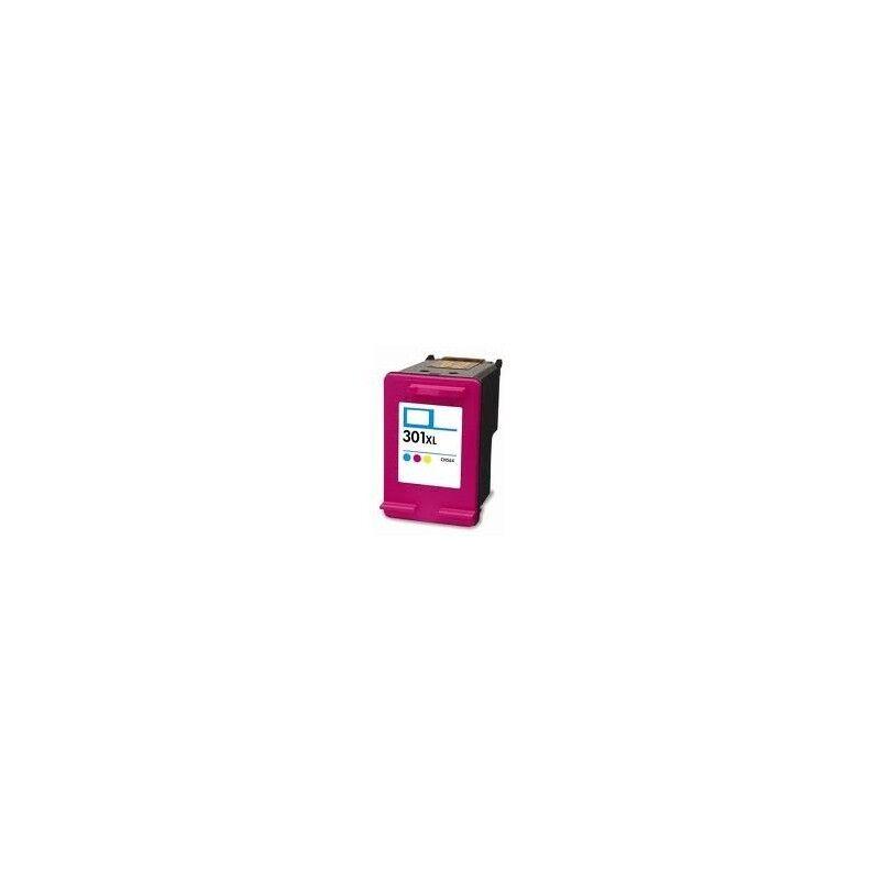 HP Cartouche couleur générique pour HP deskjet 1050 / 2050 / 3050 ... (N°301XL)