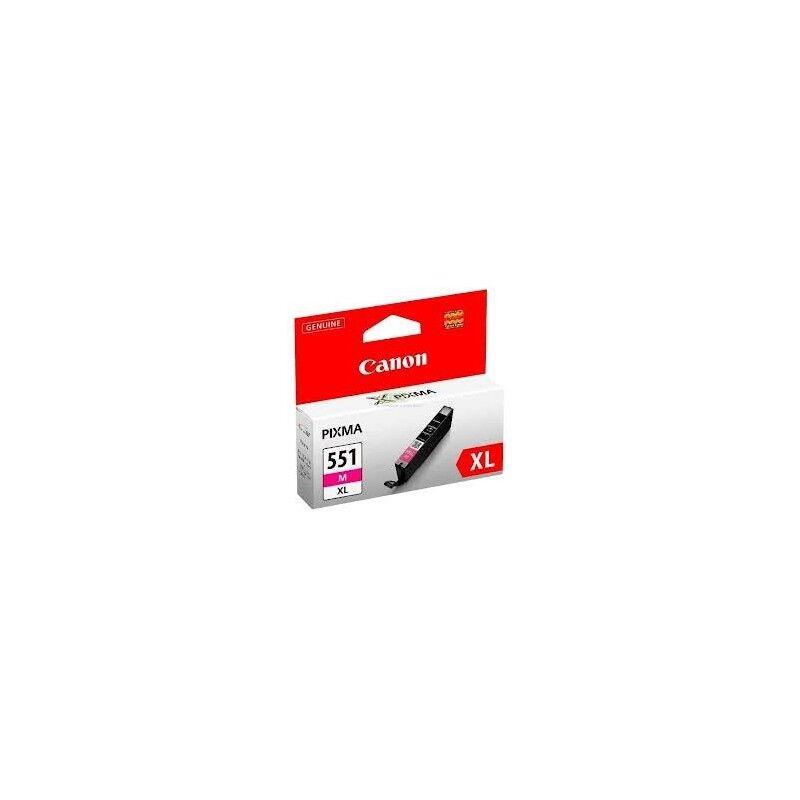 Canon Cartouche magenta Canon CLI-551MXL pour Pixma MG5450 / MG6350...