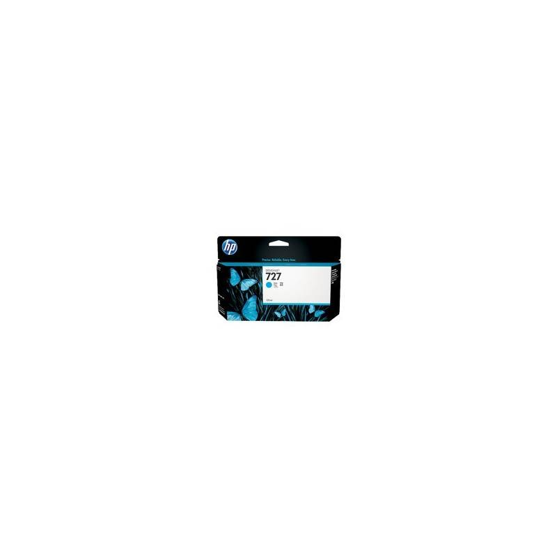 HP Cartouche cyan HP pour Designjet T1500 / T2500 / T920 (N°727)