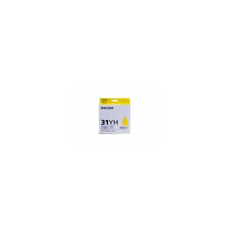 Ricoh Cartouche jaune Ricoh pour Aficio GXe 5550 / GXe 7700 (GC-31HY)