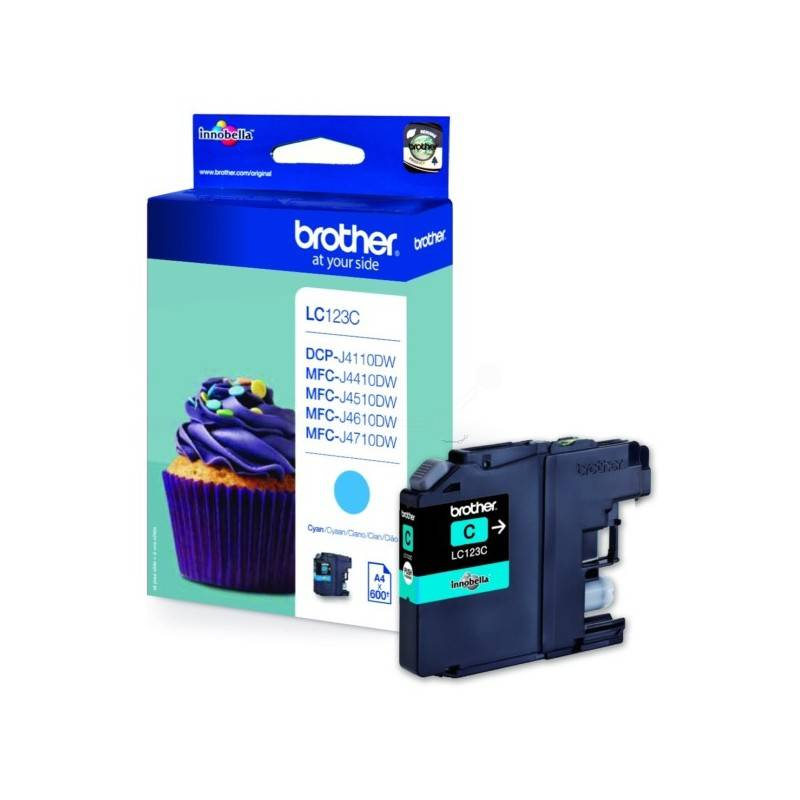 Brother Cartouche cyan Brother pour MFC-J4510dw / MFC-J4410dw / MFC-J4610dw