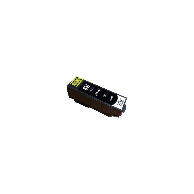Epson Cartouche Noire générique Haute Capacité pour Epson Expression Premium XP-630 / XP-830 ... (n°33XL - orange)