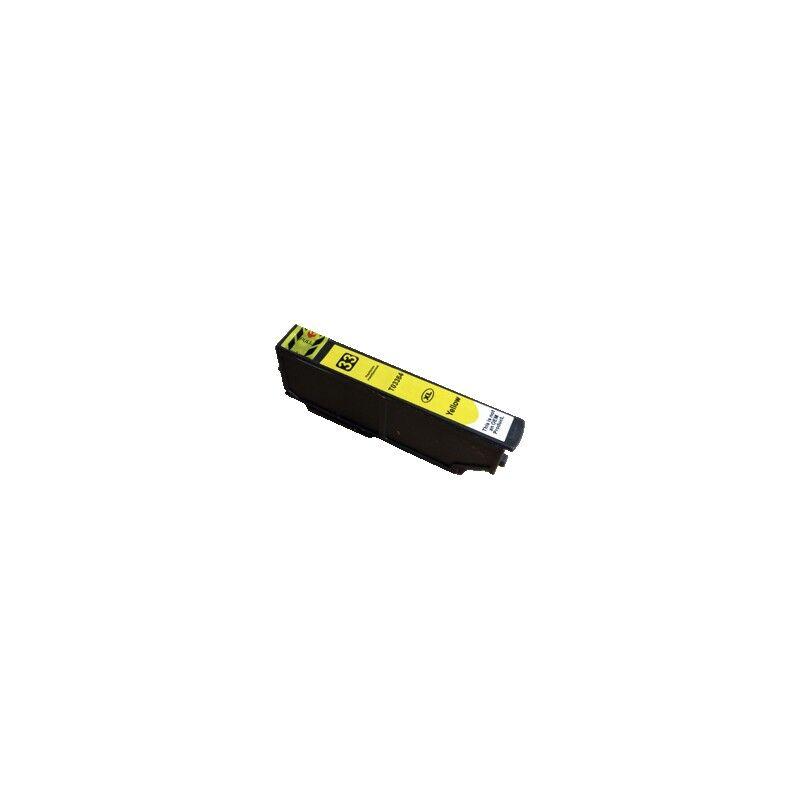 Epson Cartouche Jaune générique Haute Capacité pour Epson Expression Premium XP-630 / XP-830 ... (n°33XL - orange)
