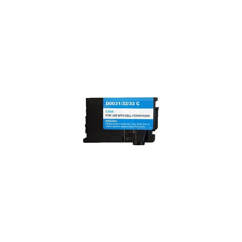 Dell Cartouche cyan générique pour Dell V525w / V725w (331-7378)