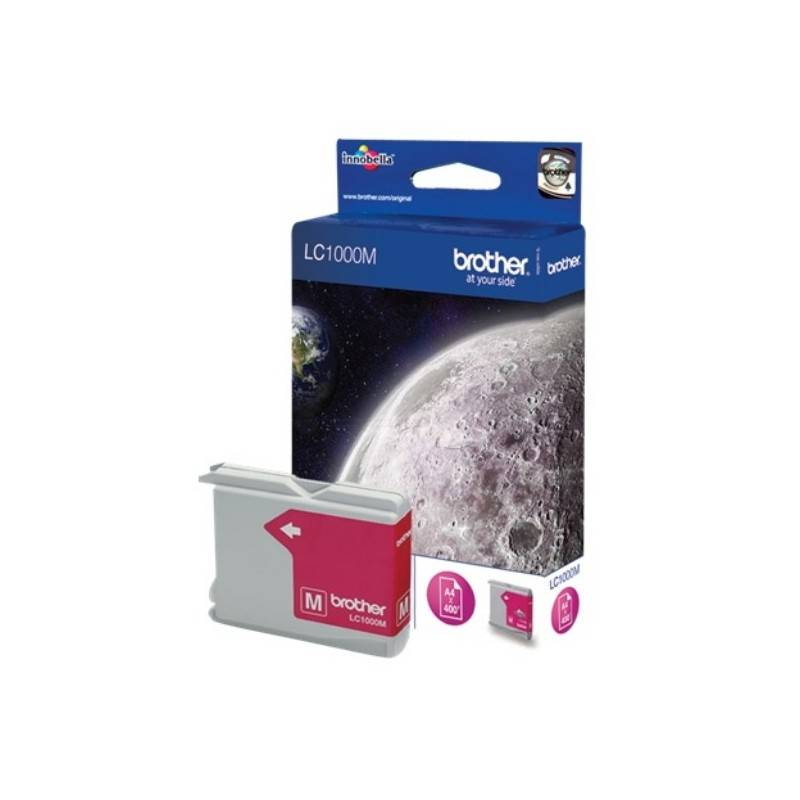 Brother Cartouche d'encre magenta Brother pour DCP130C / DCP330C / DCP750CW (LC1000M)