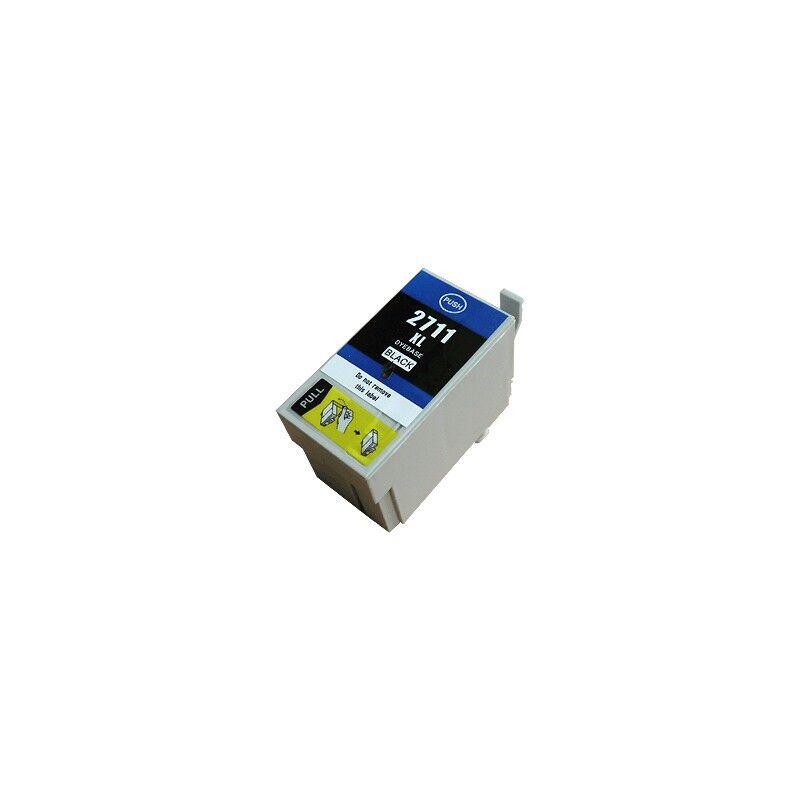 Epson Cartouche d'encre noire XL générique pour Epson WorkForce WorkForce 3620/ 3640/7620DTWF .. (n°27XL) (réveil)