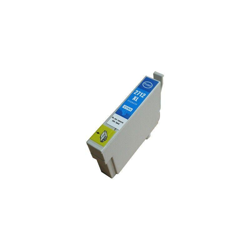 Epson Cartouche d'encre cyan XL générique pour Epson WorkForce WorkForce 3620/ 3640/7620DTWF .. (n°27XL) (réveil)
