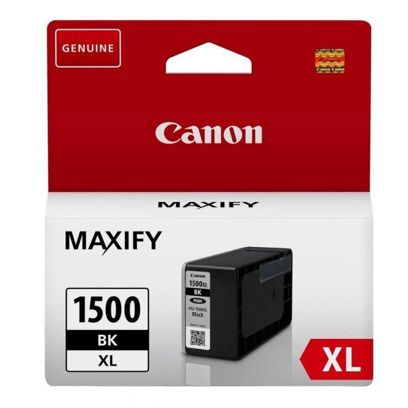 Canon Cartouche jet d'encre haut rendement Canon PGI-1500XL BK - Noir